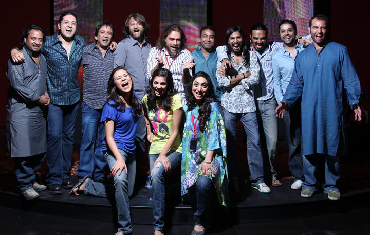 Coke Studio House Band Team