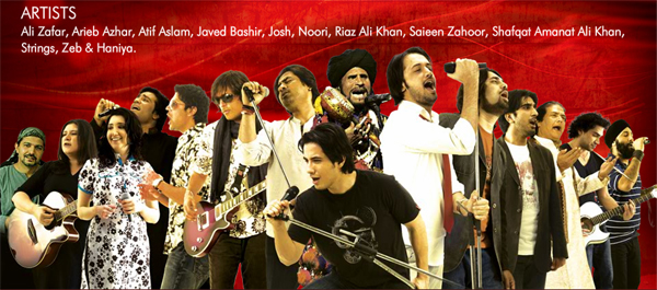coke studio season2 all artists
