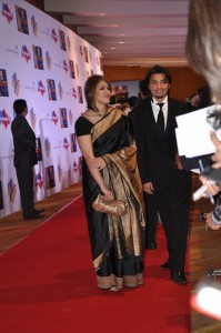Ali Zafar and Ayesha Fazli at Zee Cine Awards