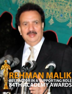 Rehman Malik Acting in Pakistani Film
