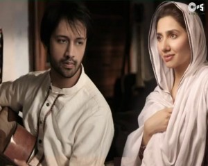 Atif Aslam and Mahira Khan on Shaista Wahidi's UTHO Jaga Pakistan