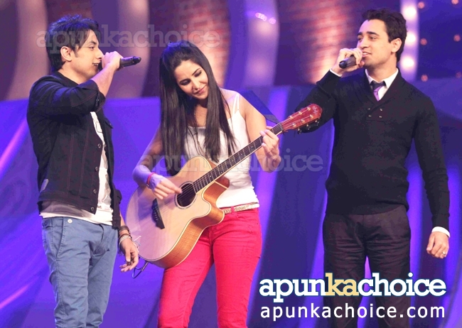 Ali-Zafar-with-Imran-Katrina-Kaif-on-just-dance-tv-show (2)