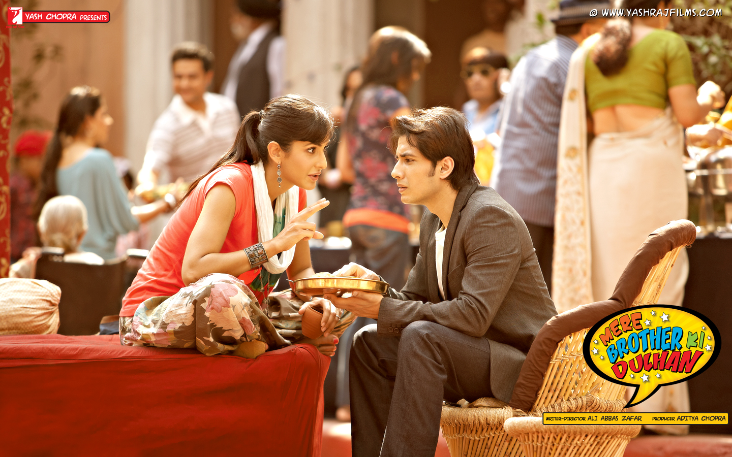 Ali Zafar With Katrina Kaif in Mere Brother Ke Dulhan