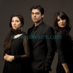 Fawad Khan, VJ Mahira and Naveen in Humsafar Drama