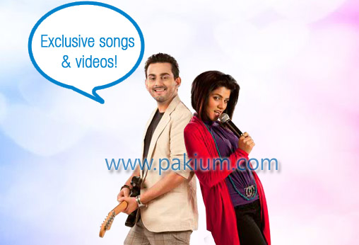Bilal Khan and QB in Jazba Song
