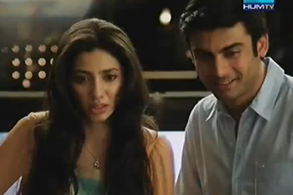 Fawad Khan and Mahira Khan featuring in Aquafina TVC