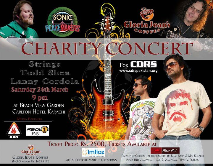 Sonic Peace Makers Charity Concert
