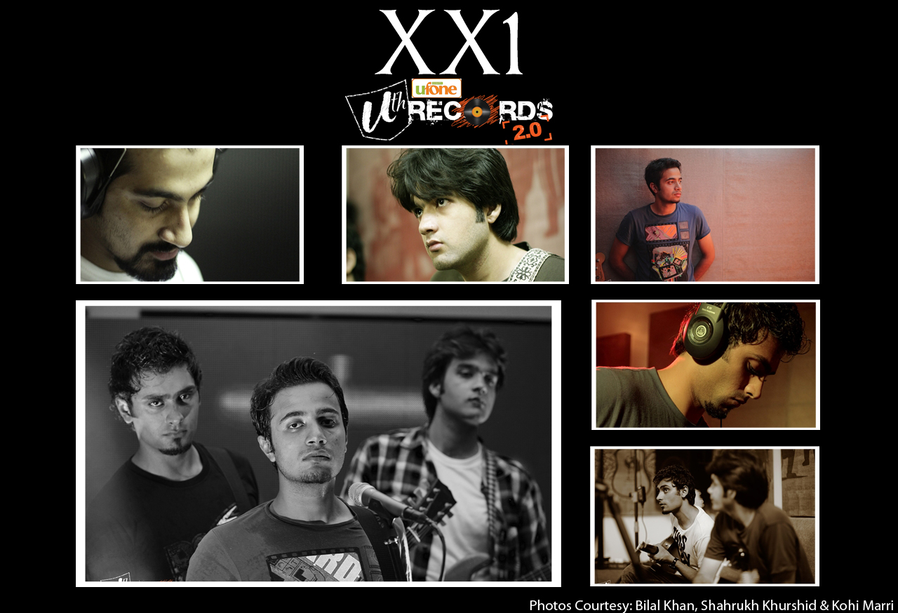 Ufone Uth Records 2.0 second episode featuring XX1 21 band with Ahad Nayani