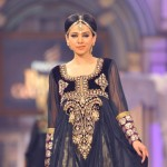 fashion model tooba models in Bridal Couture Week 2012