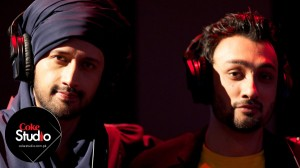 Atif Aslam and Qayaas in Coke Studio Season 5 Episode 1