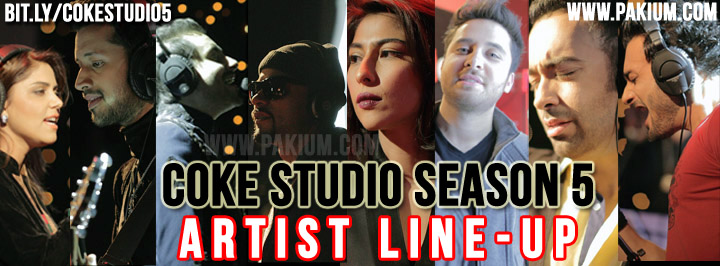 Coke Studio Season 5 Artist Line up
