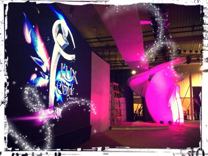 11th Lux Style Awards stage