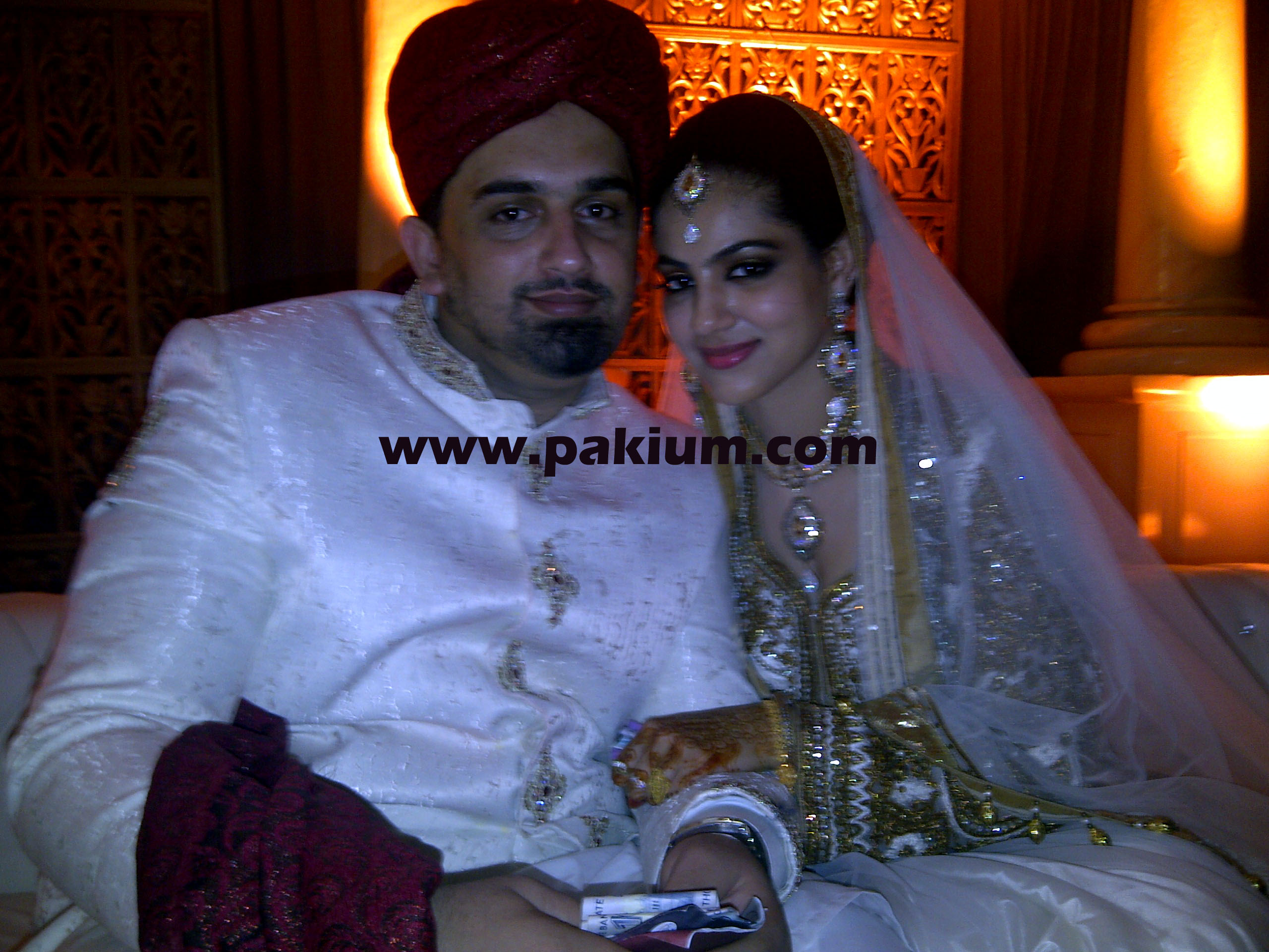 Annie Khalid married with Malik Naveed Awan