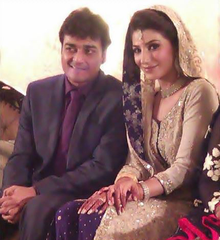Naveen Waqas married Azfar Ali