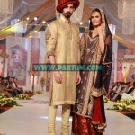 Asifa and Nabeel at Bridal Couture Week Lahore October 2012-13