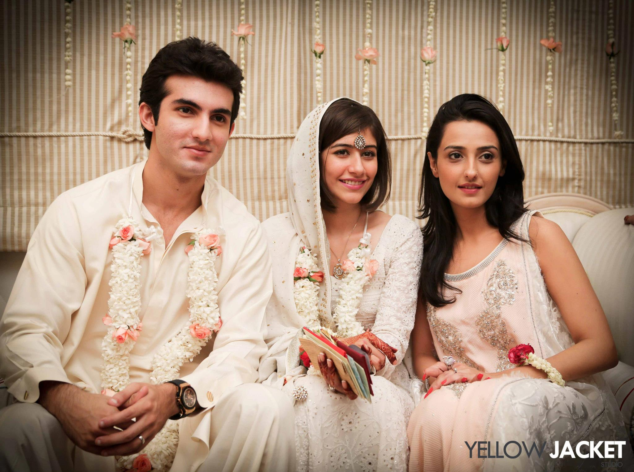 VJ Syra Yousuf and Shehroz Sabzwari Wedding Photos