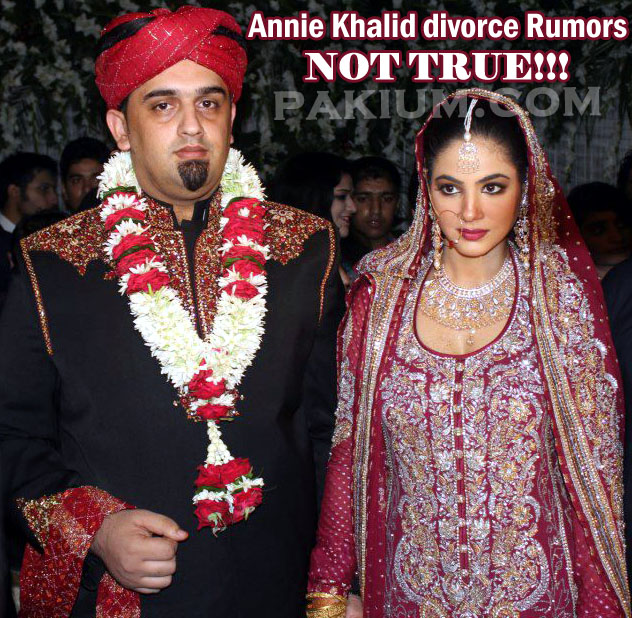 Annie Khalid Divorce Rumors