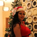 Veena Malik Celebrating Christmas18