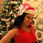 Veena Malik Celebrating Christmas19
