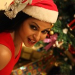 Veena Malik Celebrating Christmas23