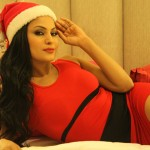 Veena Malik Celebrating Christmas29