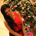 Veena Malik Celebrating Christmas4