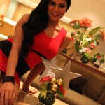 Veena Malik Celebrating Christmas6