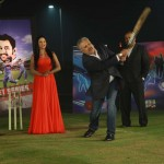 Pakistani Cricket Legend inaugrating the show with Veena Malik on India Today