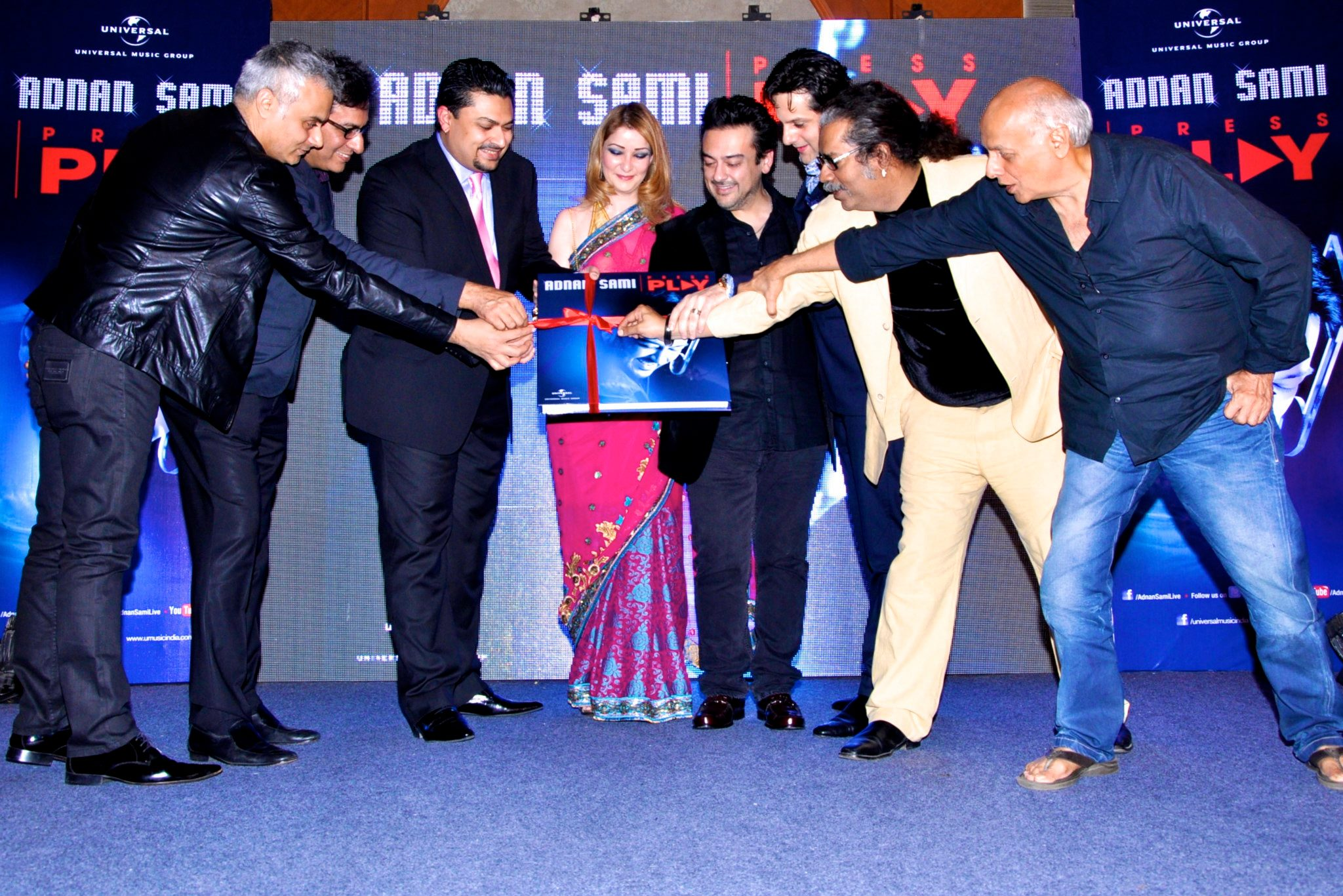 Adnan Sami Press Play Album Launch - 10