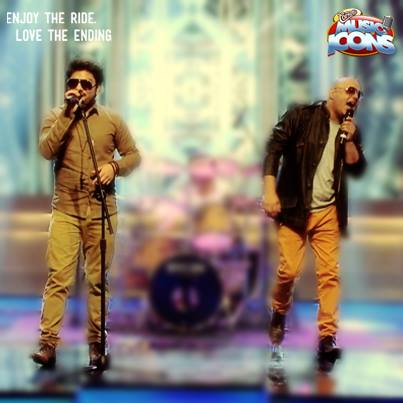 Ali Azmat and Zamad Baig at Cornetto Music Icons Episode 7