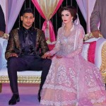 Amir Khan and Faryal Makhdoom Valima Pictures - 07