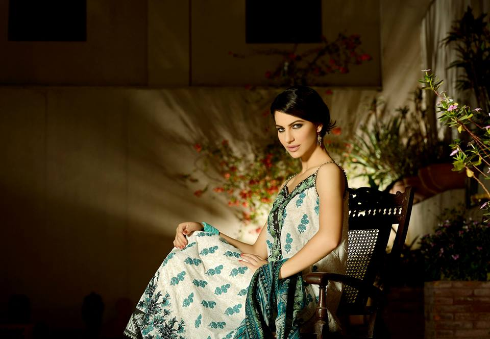 Cybil Chaudhry shoot for Khaadi's Eid Collection Volume 1 - 25