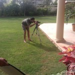 Sanam Saeed Warda Saleem Lawn Eid Collection BTS - 5