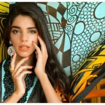 Sanam Saeed Wardha Eid Lawn Collection - 1