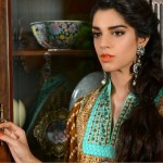 Sanam Saeed Wardha Eid Lawn Collection - 10