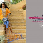 Sanam Saeed Wardha Eid Lawn Collection - 14