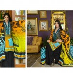 Sanam Saeed Wardha Eid Lawn Collection - 2