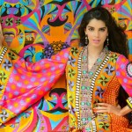 Sanam Saeed Wardha Eid Lawn Collection - 3