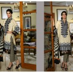 Sanam Saeed Wardha Eid Lawn Collection - 8