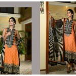 Sanam Saeed Wardha Eid Lawn Collection - 9