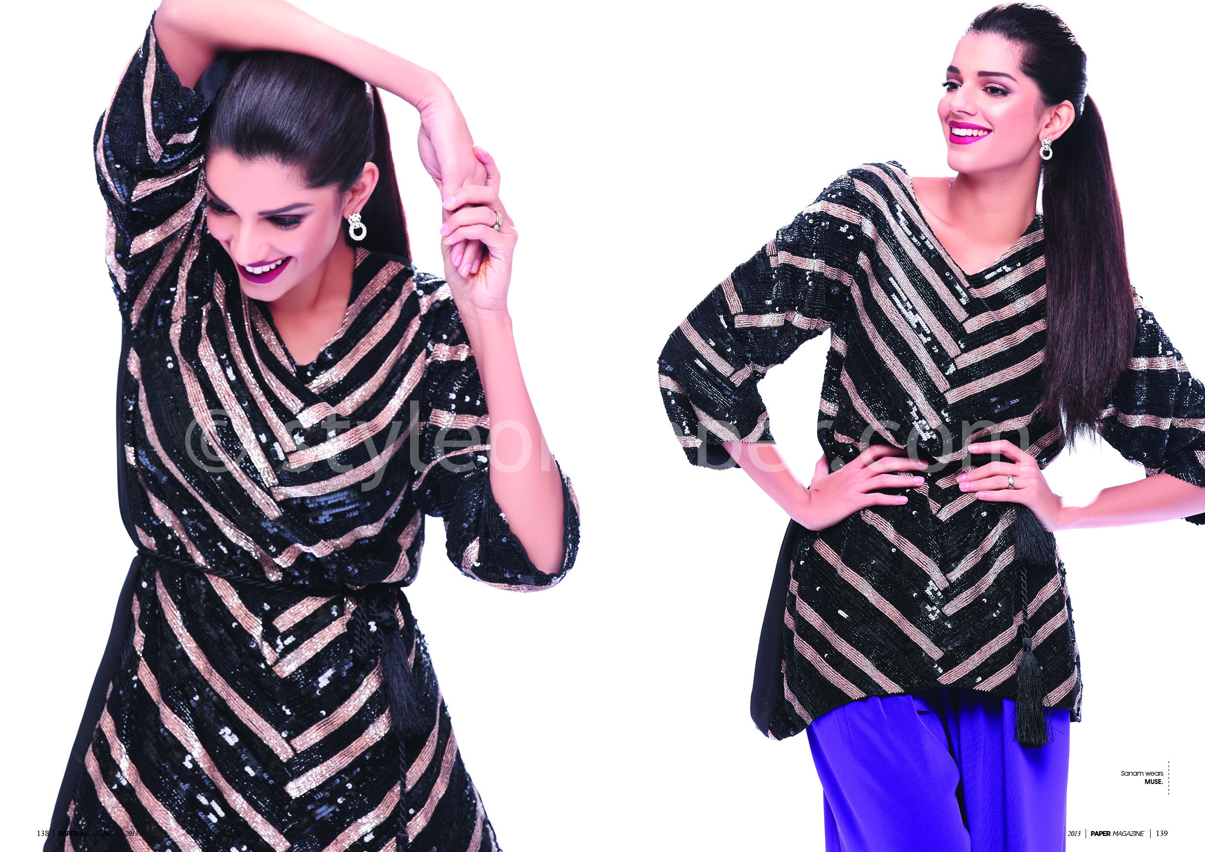 Sanam Saeed in Paper Magazaine - 5