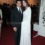 Ahmed & Mehreen at Lux Style Awards 2013 (Redcarpet)