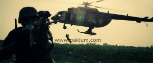 ACtion scene in WAAR with visual effects
