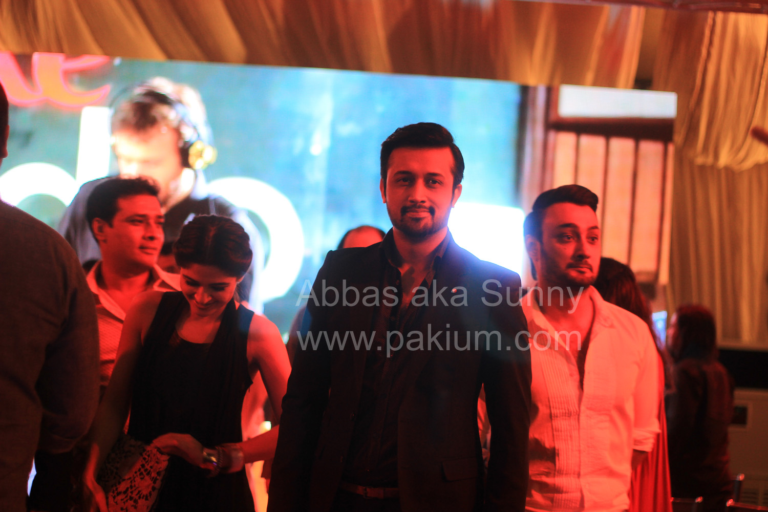 atif aslam in coke studio season 6 launch event
