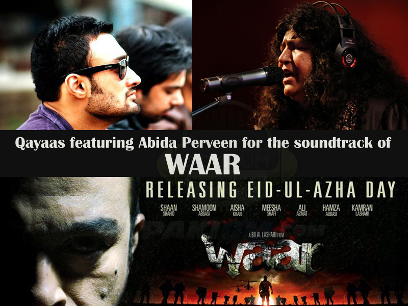 qayaas featuring abida parveen for Waar movie soundtrack