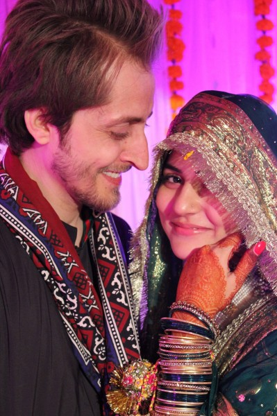 Here s one photo of sanam baloch with her husband abdullah