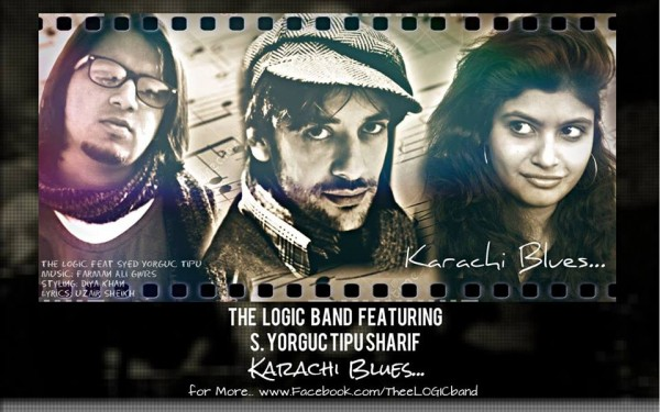 Logic-Band-ft-Syed-Tipu-Sharif-Yorguc-karachi-blues