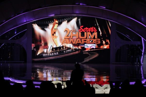 Stage of 2nd Hum Awards