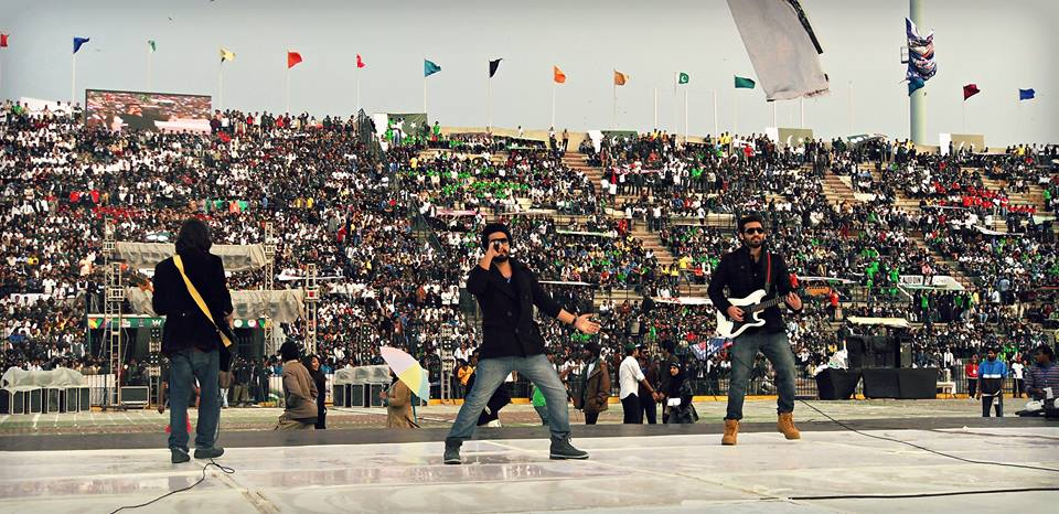 irzaan-band-at-punjab-youth-festival-2014
