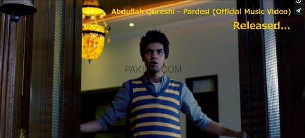 Abdullah Qureshi – Pardesi (Official Music Video)